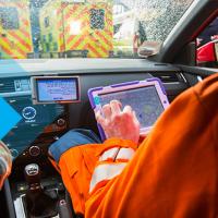 template transport ambulance